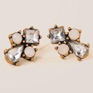 Francesca's 'Diane Crystal Stud Earrings'